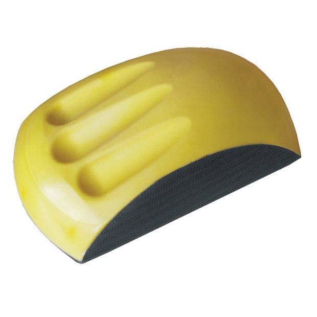 lackwelt24 schleifklotz gelb f r klett schleifscheiben. Black Bedroom Furniture Sets. Home Design Ideas
