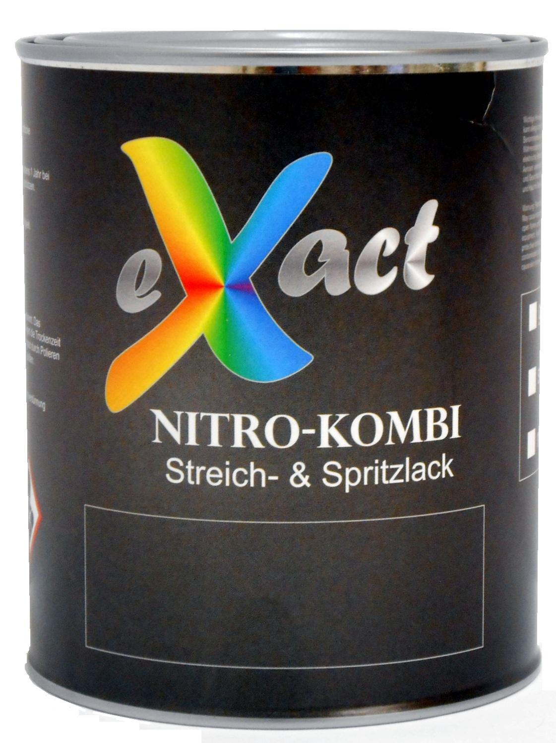 zum streichen//rollen//Spritzen RAL 3000 Feuerrot eXact Nitro Lack